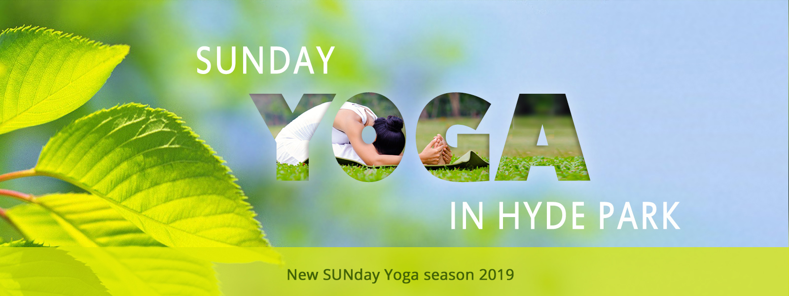 Sunday Yoga Classes in Hyde Park
